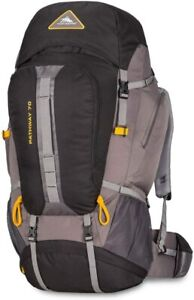 High Sierra Pathway Hiking Backpack 70L Black/Slate/Gold 79549-5745