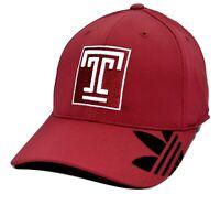 Temple University Temple Owls adidas NCAA Small Medium Flex Fit Cap Hat
