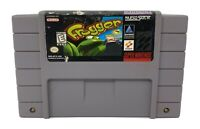 Frogger (Super Nintendo Entertainment System, SNES) *AUTHENTIC, TESTED*