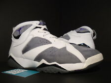 2006 Nike Air Jordan VII 7 Retro WHITE PURPLE FLINT GREY GRAPE 304775-151 12.5