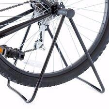 Foldable Bike Wheel Hub Display Stand Floor Storage Rack Bicycle Repair Tune-Up