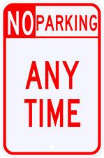 3M Reflective No Parking Anytime Sign Dot Municipal Grade 12 x 18 - R7-100Sra5