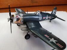 Pro built F4U-4 Corsair 1/72 scale