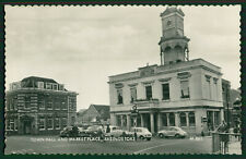 RP Postcard Of The Town Hall & Market Place, Basingstoke, Valentines