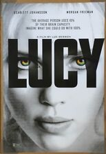 LUCY MOVIE POSTER 2 Sided ORIGINAL Advance 27x40 SCARLETT JOHANSSON