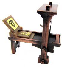 1:48 Scale Metal Printing Press Die Cast Diorama Accessory/Desk Pencil Sharpener