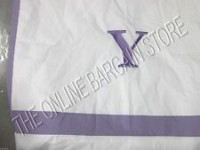 Pottery Barn Kids Classic Applique Bed Duvet Cover Lavender Twin Letter Y