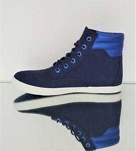 TIMBERLAND DAUSETTE WOMEN'S LIGHTWEIGHT HIGHTOP SNEAKER BOOTS DARK BLUE sz  8.5