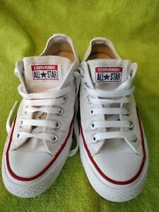 Converse All Star CT Ox White Pumps UK Ladies 4.5