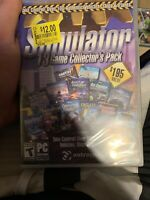 Simulator 13 Game Collector's Pack PC CD-ROM Valve Vehicles Ships Planes NEW