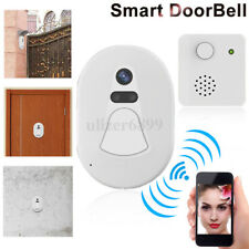 Smart Wireless WiFi Video Camera Door Phone Doorbell Intercom Monitor Security A