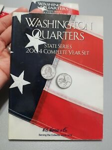HE Harris Folder 2587: Complete Year Set Quarters, 2004