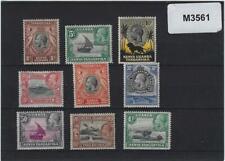 Kenya, Uganda, & Ta Kenya, Uganda and Tanganyika 1935-37 values to 1s MH