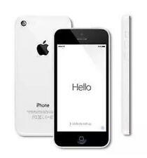 "APPLE iPHONE 5C 8GB WHITE SMART PHONE 4"" WiFi UNLOCKED SIM FREE 8MP 4G MOBILE"