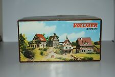 Z Scale Vollmer 9535 Set of 4 Half Timbered German Houses Village NOS C10679