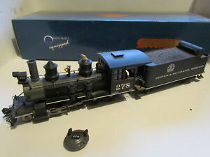 On30 Broadway Limited D&RGW 2-8-0 278