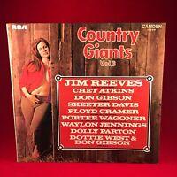 VARIOUS Country Giants Vol.3 UK RCA Camden vinyl LP EXCELLENT COND Dolly Parton