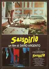 Suspiria Poster 06 Metal Sign A4 12x8 Aluminium