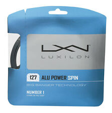 Luxilon BIG BANGER ALLUMINIO POWER SPIN 1.27 mm 16 Tennis Stringhe Set