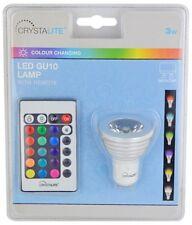 Bombilla LED GU10 Color Cambiante & Control Remoto-Estado 3W C 3 ledg 10CC1PKB3