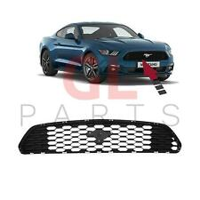 FOR FORD MUSTANG 15-18 USA NEW FRONT BUMPER UPPER CENTER GRILLE BLACK NO BADGE