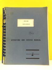 HP 03462-90000 Model 3462A Digital Voltmeter Operating and Service Manual
