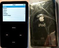 128GB iPod Video Classic 5th Black + Wolfson DAC SD Card Refurbished SSD 120GB