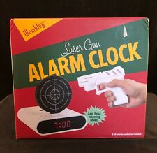 Infrared Wireless Target Gun Alarm Clock with LCD Screen By Wembley