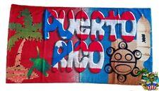Puerto Rico Flag & Sun Taino 30 x 60 Inchs Home , Beach , Swimming , Lake Towel
