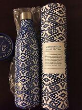 S'well Bottle by John Robshaw 25 oz Blue Vati Limited Edition NIB