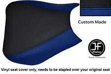 Vinilo Negro Azul R Personalizado Para Honda CBR 1000 RR Fireblade 04-07 Cubierta de asiento delantero