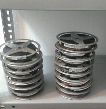 trailer cinematografico 16mm su bobina - lista vari titoli in foto