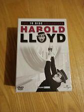 Harold Lloyd - The 10 Disc Collection DVD box