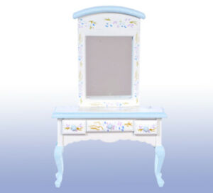 Dolls House Furniture,   Vanity with Mirror