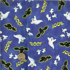 "Halloween ""Ghosts/Bats/Boo&#03 4; Quilting Treasure - Btfq - 18""X22"""