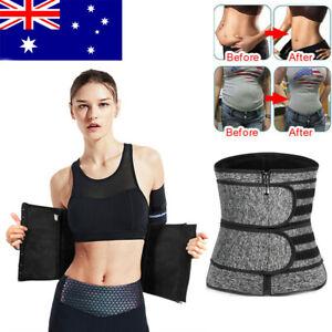 Gym Waist Trainer Sauna Sweat Belt Tummy Girdle Body Slimming Body Shaper Corset
