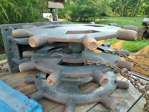 Excavator compactor Wheel