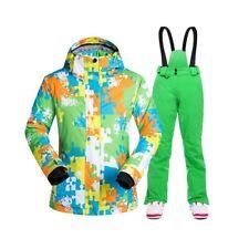 Women Ski Suit Winter Snowboarding Trousers Snow Suit Waterproof Winderproof Set