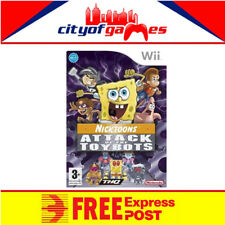 Attack of the Toybots Nintendo Wii New & Sealed Free Express Post
