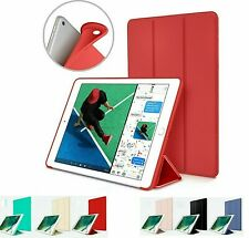 iPad Case 6th Generation 9.7 Model Slim Magnetic Silicone Smart Cover For Apple