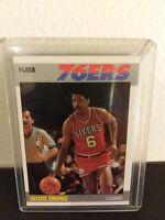 1987 Fleer Julius Erving #35 Basketball Card