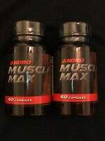 Andro Muscle Builder -Legal Test-  2 Bottles!  Proven Result  Best Buy
