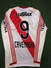 Cavenaghi River Plate 2010-2011 Match Prepared Shirt