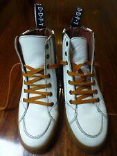 John Fluevog White High Top Sneakers, Women's size 8, Men's size 6