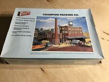 Walthers Cornerstone Series Ho Scale Structure Kit Champion Packing Co.