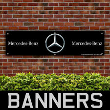 Mercedes Benz PVC Banner Garage Workshop Car Sign (BANPN00163)