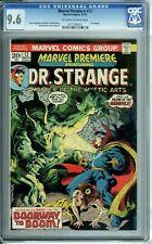 MARVEL PREMIERE #12 CGC 9.6 DR. STRANGE GARGOYLE ONLY 6 GRADED HIGHER !!
