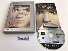 Resident Evil Code Veronica X - Sony PlayStation PS2 - FR - Avec Notice