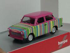 Herpa Trabant 601 S  pink, Strichcode - 027618