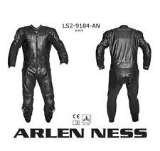 Tuta pelle per moto Arlen Ness divisibile modello LS2-9184-AN Tg. 52 colore nero